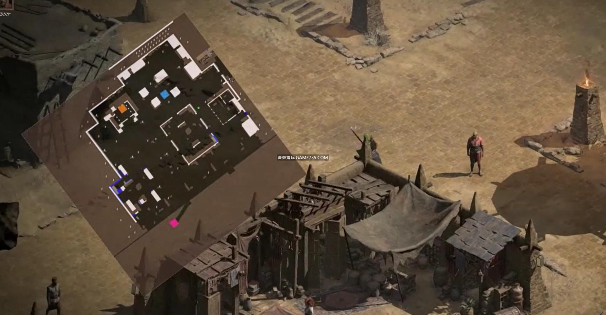 暗黑破壞神2重製版開圖MAPHACK演示分享/EBAY推薦連結